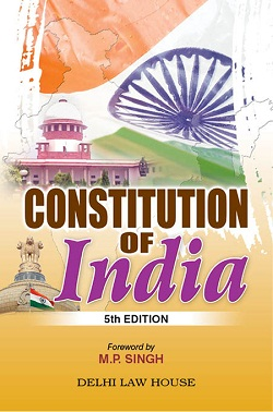 M.P. Singhs : Constitution of India (P/B)  with 100th Amendment, 4th New Edn., R/P