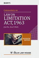 Basu, P.s : Commentary on Limitation Act, 9th New Edn.