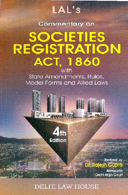 Lals : Societies Registration Act, 5th New Edn.